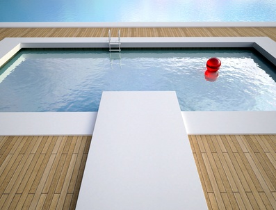Piscine en bois durable d 39 achat sur les Accessoire piscine bois